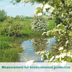 Measurement for environmental protection